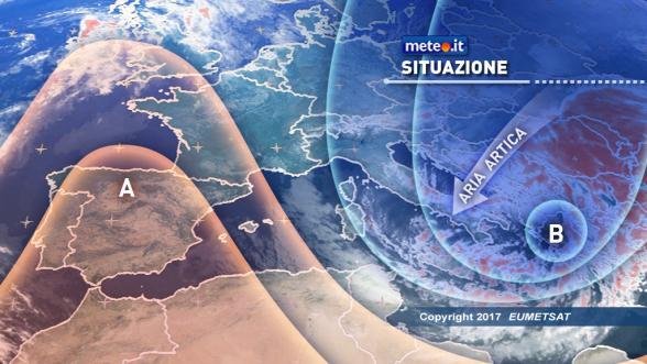 Meteo del 6 gennaio. Bufera dell'Epifania sull'Italia: tracollo termico e neve Previsioni | METEO.IT