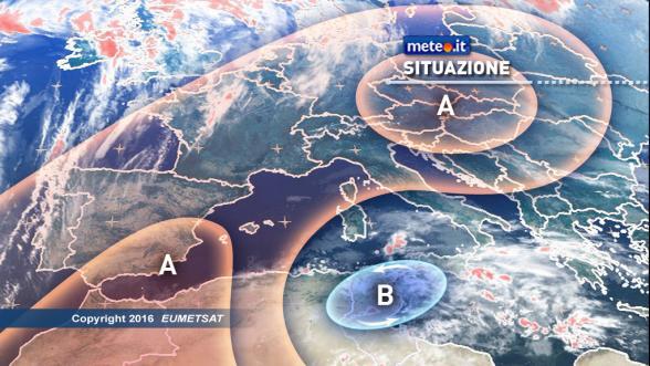 Meteo Italia del 7 dicembre. Oggi maltempo all'estremo Sud e in Sicilia Previsioni | METEO.IT