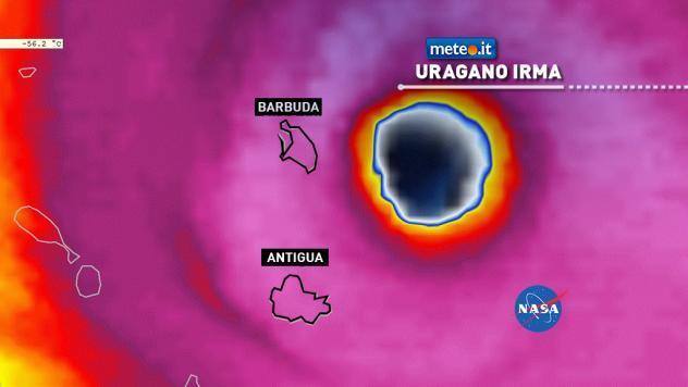 L'impatto di Irma su Barbuda e Antigua
