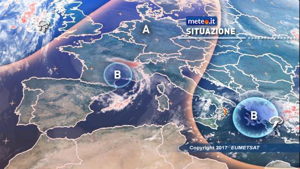 Meteo Italia del 25 gennaio. Nuovo maltempo in arrivo nel weekend Previsioni | METEO.IT