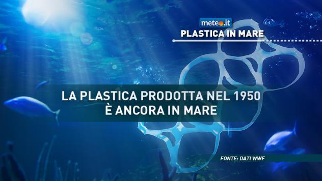La plastica in mare