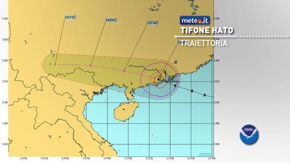 Tifone Hato: l'impatto distruttivo su Hong Kong | NEWS METEO.IT