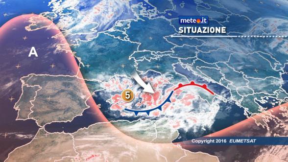 Meteo Italia del 14 novembre: lunedì forti temporali al Centrosud Previsioni | METEO.IT