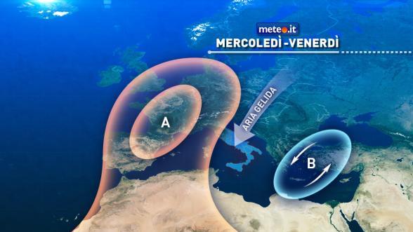 Meteo Italia del 28 dicembre. Da mercoledì forte calo delle temperature. Clima invernale al Centrosud Previsioni | METEO.IT