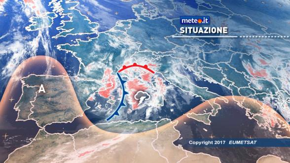 Meteo di oggi e domani. Nuova perturbazione sull'Italia Previsioni | METEO.IT