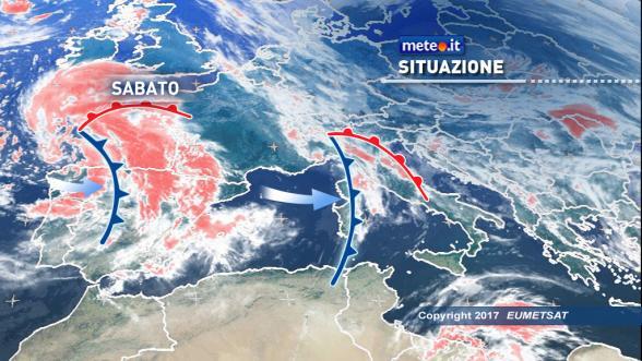 Meteo Italia. Serie di perturbazioni in arrivo sull'Italia Previsioni | METEO.IT