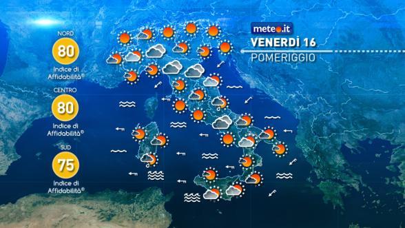 Meteo Italia. Ciclone mediterraneo nella settimana di Natale Previsioni | METEO.IT