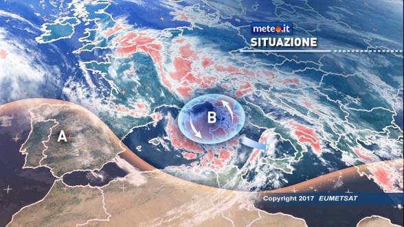 Meteo Italia. Oggi maltempo sull'Italia. Venti burrascosi sulle Isole Previsioni | METEO.IT