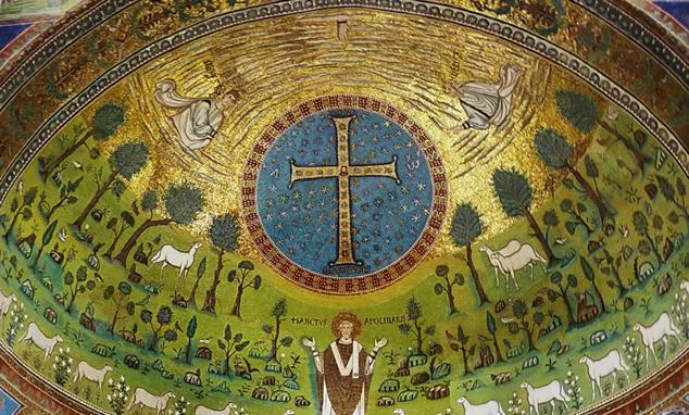 Basilica di Sant'Apollinare in Classe, Ravenna, VI secolo d.C.