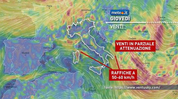 Meteo Italia. Giovedì breve tregua dal maltempo, ma già nel weekend arriva una nuova perturbazione | NEWS METEO.IT