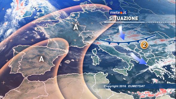 Meteo Italia del 12 dicembre. Perturbazione orientale lambisce il Centrosud Previsioni | METEO.IT