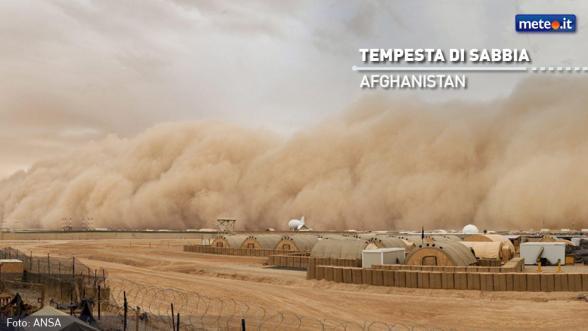 Le tempeste di sabbia pullulano di batteri