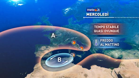 Meteo Italia del 16 novembre: nuovo peggioramento a ridosso del weekend Previsioni | METEO.IT