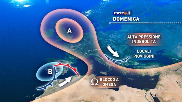 Meteo Italia. Blocco ad omega: weekend senza piogge né neve Previsioni | METEO.IT