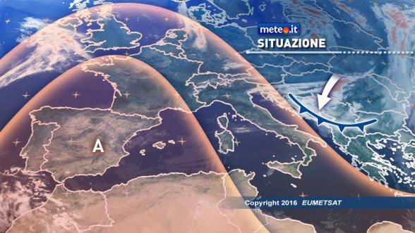 Meteo Italia del 27 dicembre. Da domani aria fredda al Sud e sul medio Adriatico Previsioni   METEO.IT