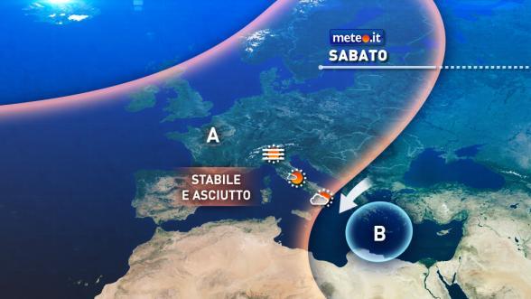 Meteo Italia del 31 dicembre. Weekend di Capodanno con tempo stabile: qualche nebbia in pianura al Nord Previsioni | METEO.IT