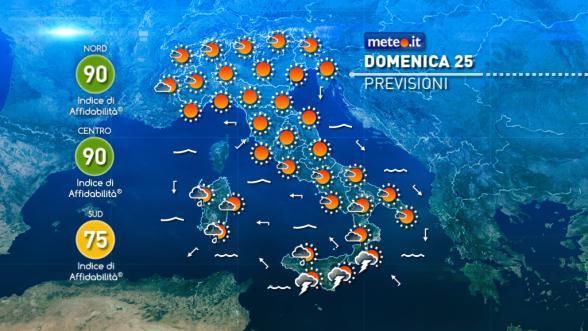 Meteo Italia del 24 settembre: weekend di maltempo su Isole e Calabria Previsioni | METEO.IT