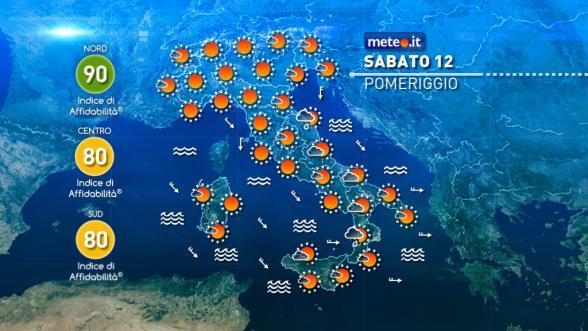 Meteo Italia del 12 novembre: weekend variabile Previsioni | METEO.IT