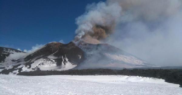 L'eruzione esplosiva dell'Etna [VIDEO]